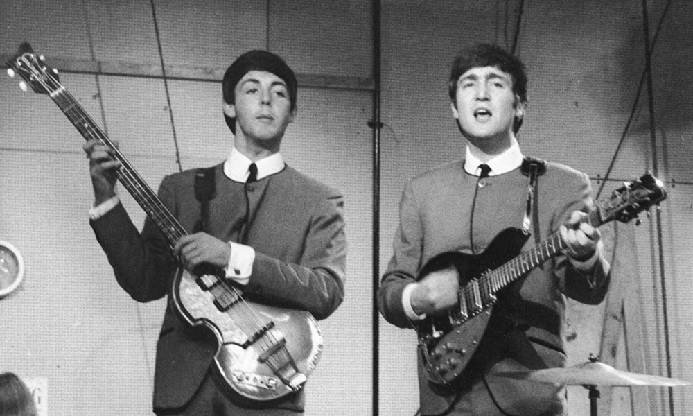 Paul McCartney and John Lennon Performing Together