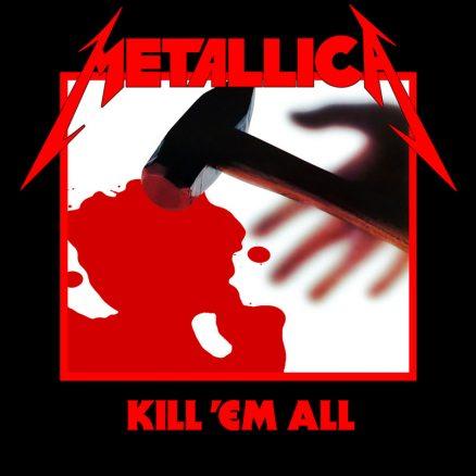 Metallica Kill Em All album cover