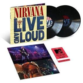 Nirvana Live And Loud Audio Release