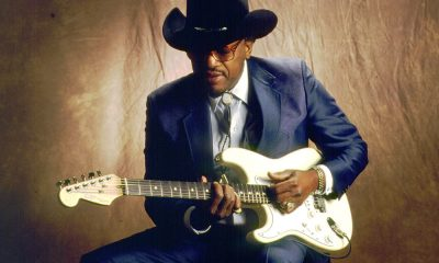 Otis Rush playing guitar