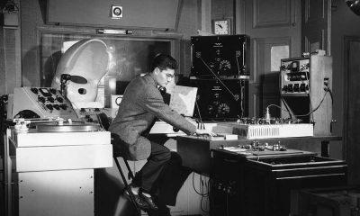 Pierre Henry at Studio d'essai du GRMC A la RTF 1951 c Serge Lido 1000