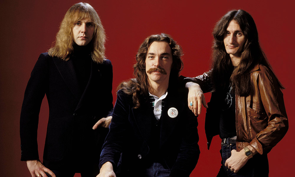 Rush, a trio comprised of three of the best Canadian musicians ever