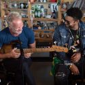 Sting & Shaggy Perform For NPR's 'Tiny Desk' Concert Series