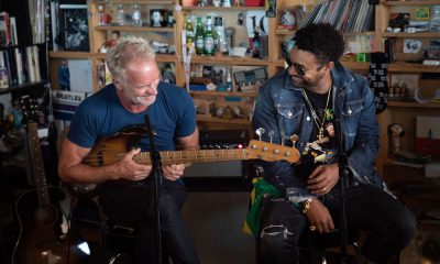 Sting Shaggy Tiny Desk Concert Series