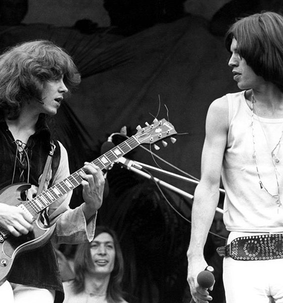 The Rolling Stones photo by Peter Sanders/Redferns