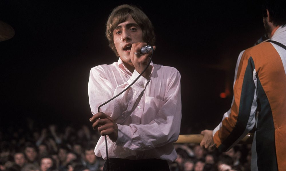 The Who performing live in 1966