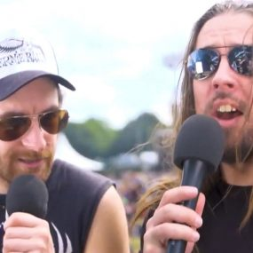 Airbourne uDiscover Music Ramblin Man Interview