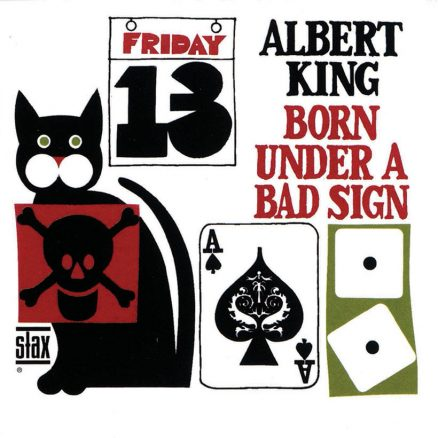 Albert King Born Under A Bad Sign album cover 820