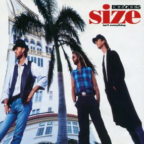 Bee Gees Size Isn't Everything album cover 820