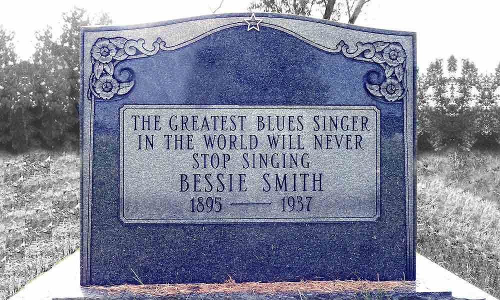 Bessie Smith headstone GettyImages 1207033967
