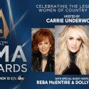 Carrie Underwood, Reba McEntire, Dolly Parton To Host 2019 CMA Awards