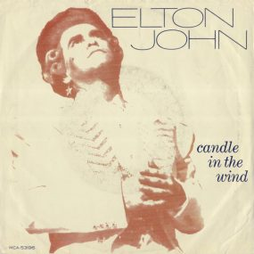 Elton John Candle In The Wind single cover