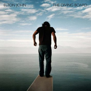 Elton John The Diving Board album cover 820