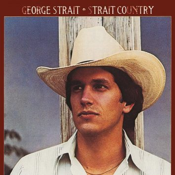 George Strait Strait Country album cover 820