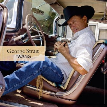 George Strait Twang album cover