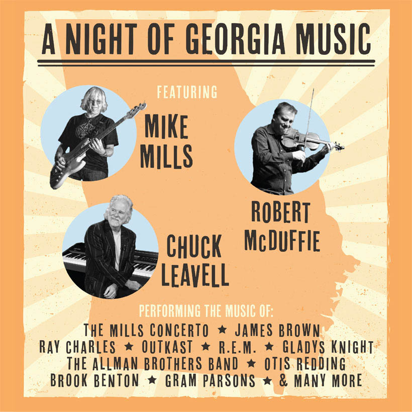 R.E.M.'s Mike Mills, The Rolling Stones' Chuck Leavell Partner For Tour Honouring Georgia Musicians