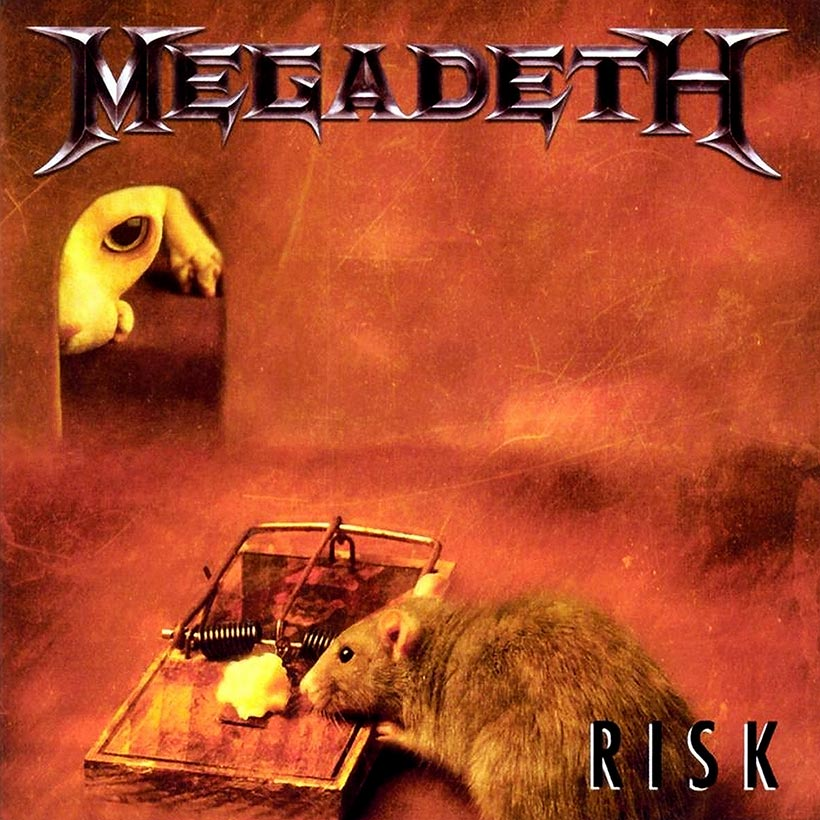 Megadeth Risk album cover 820