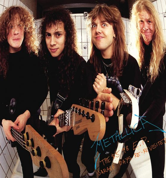 Metallica Garage Days Re-Revisited EP cover