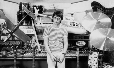 Mike Oldfield In His Studio