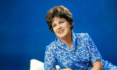 Patsy Cline blue publicity photo courtesy UMe