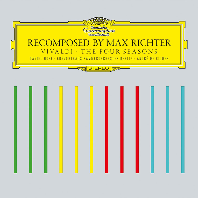 Max Richter Recomposed cover