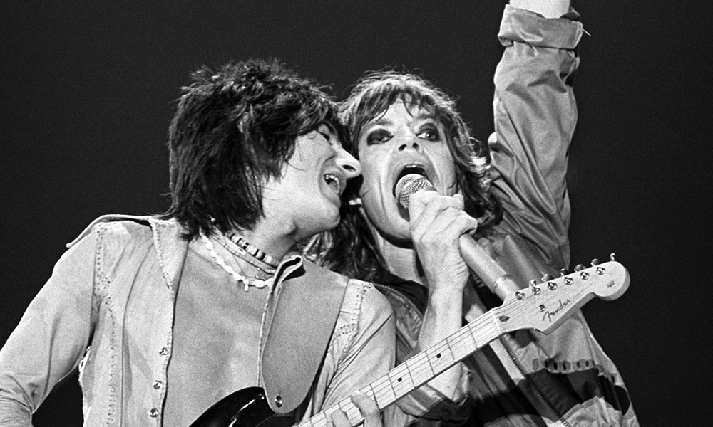 The Rolling Stones Performing Live at the Tour of the Americas 75