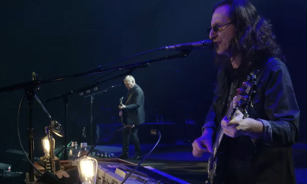 Watch Rush Perform 'Distant Early Warning' From 'Cinema Strangiato' Film