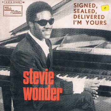 Signed Sealed Delivered Stevie Wonder