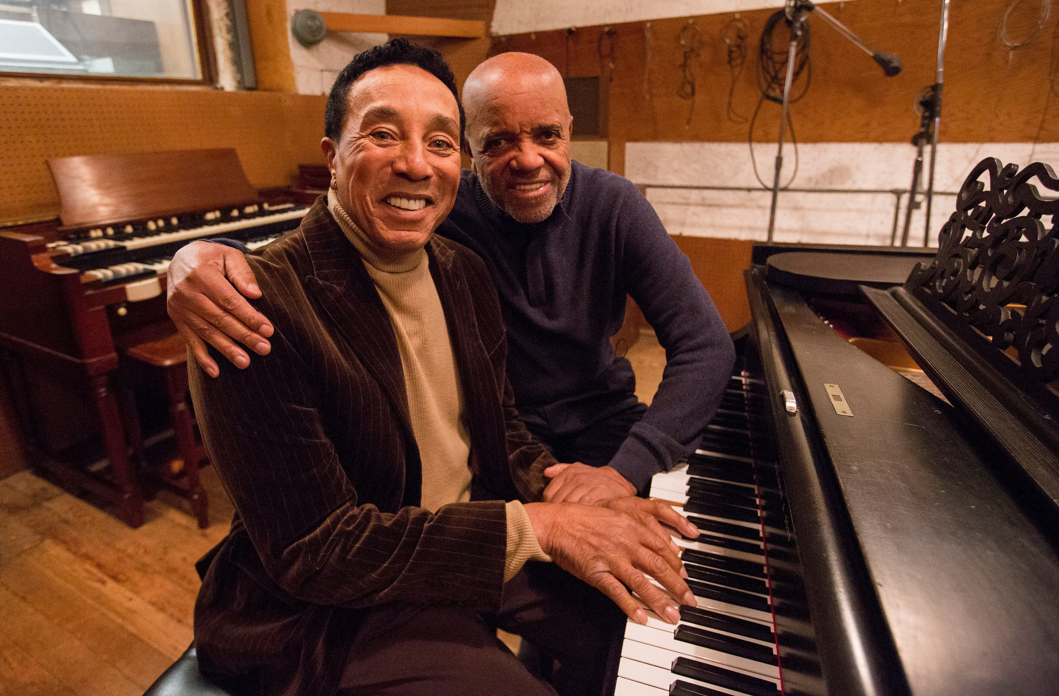 Smokey Robinson Berry Gordy Motown documentary approved press