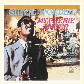 Stevie Wonder My Cherie Amour album cover
