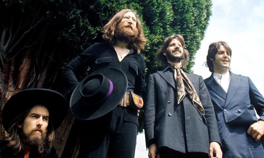 Beatles Abbey Road press shot