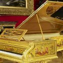 Pianist Stephen Hough Plays Queen's Gold Piano At BBC Proms