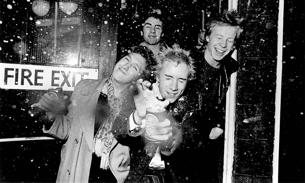 Sex Pistols CREDIT Pete Vernon-EMI Hayes Archive