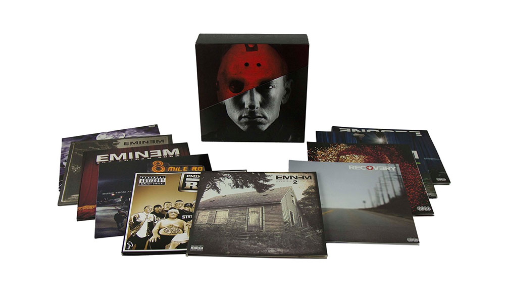 Eminem Vinyl Box Set Giveaway