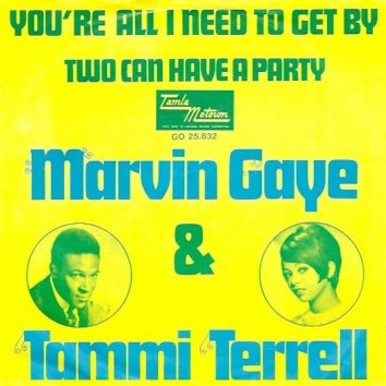 Marvin Gaye and Tammi Terrell Youre All I Need To Get By