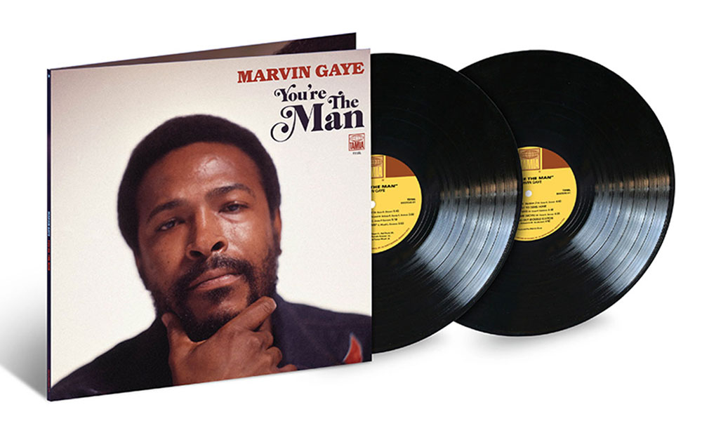 Marvin Gaye You're The Man Vinyl