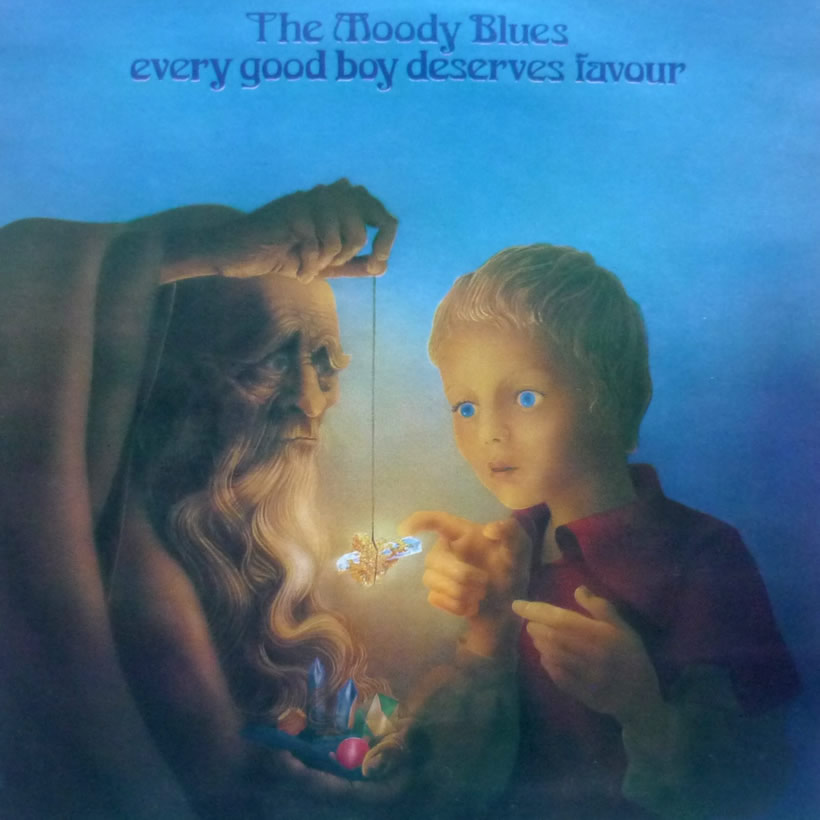 Every Good Boy Deserves Favour Moody Blues