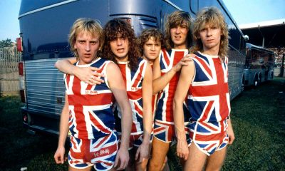 Def Leppard Pyromania press shot courtesy of the band