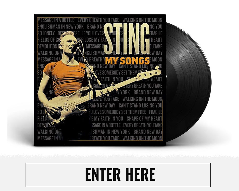 Sting Giveaway