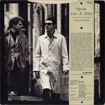 Style Council Speak Like A Child