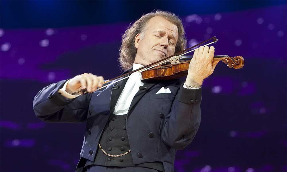 Violinist Andre Rieu