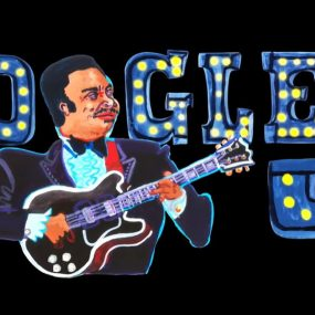 BB King Exclusive Google Doodle