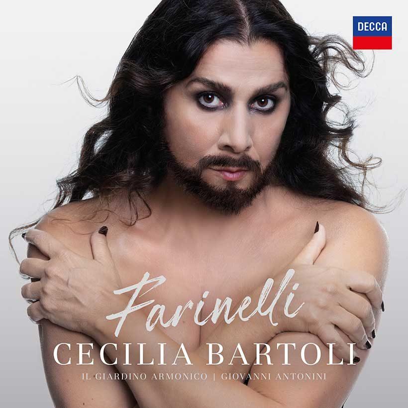 Cecilia Bartoli Farinelli album cover