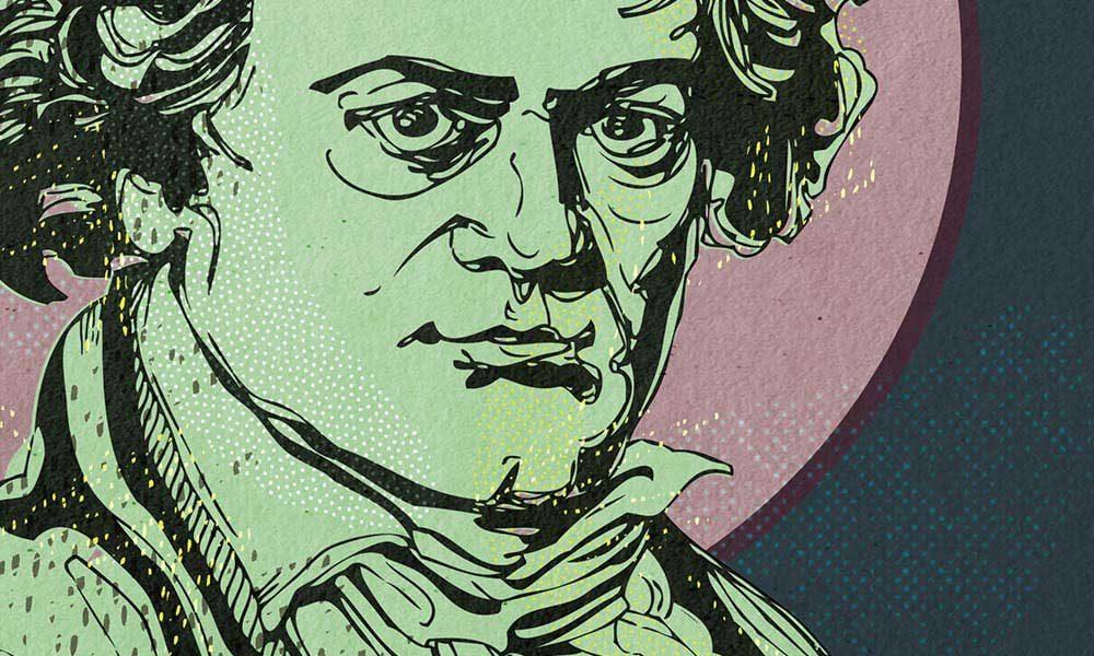 Beethoven Sonatas - Beethoven composer portrait