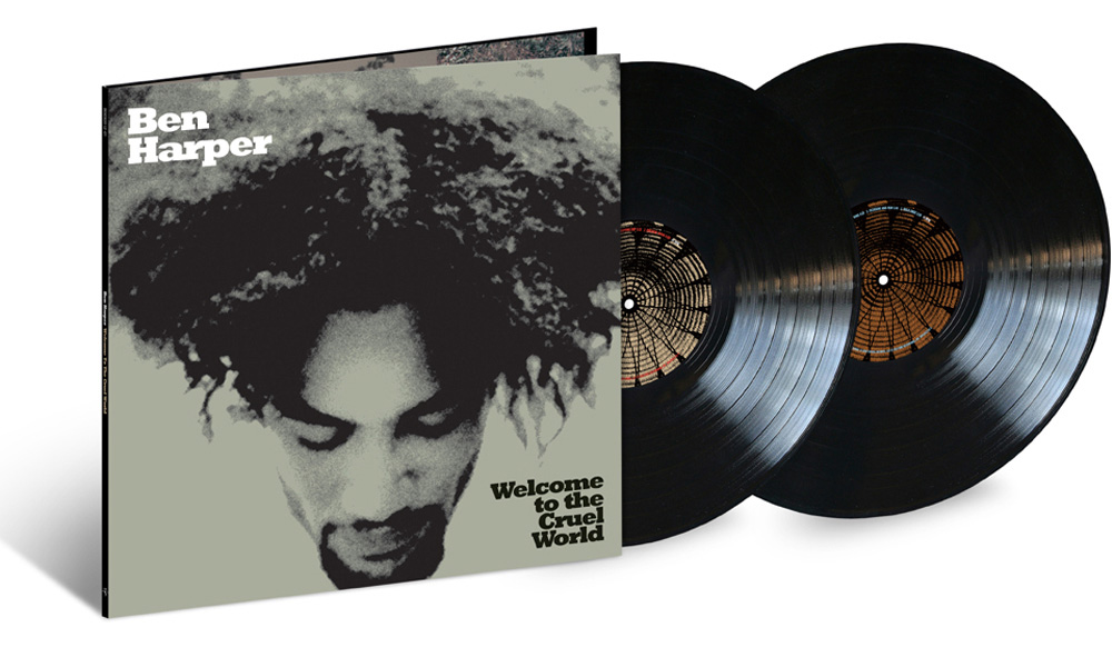 Ben Harper's 'Welcome To The Cruel World' Celebrates 25 Years With 2LP Vinyl Reissue