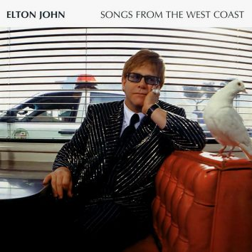Elton John Songs From The West Coast album cover
