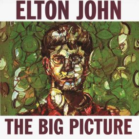 Elton John The Big Picture album cover 820