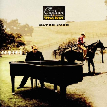 Elton John The Captain And The Kid Album Cover