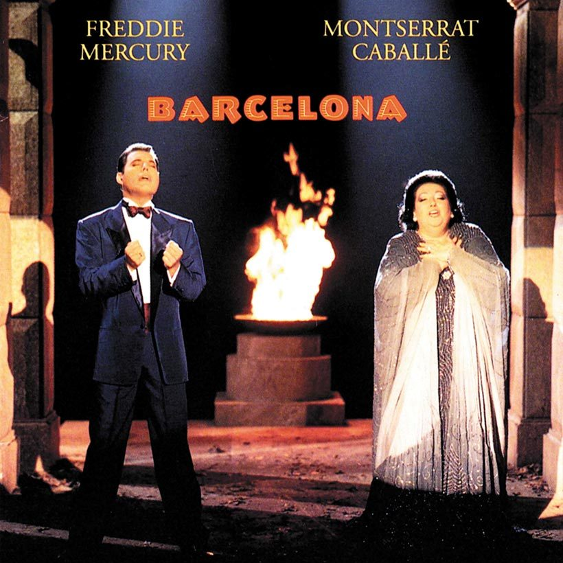 Freddie Mercury Montserrat Caballe Barcelona Album Cover