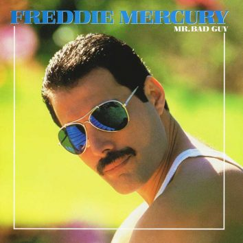 Freddie Mercury Mr Bad Guy album cover 820